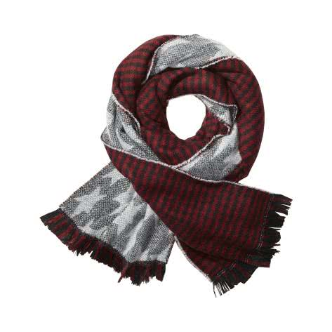 Maison Scotch Damen Schal Double Sided Scarf 140950-19 Combo C | One size