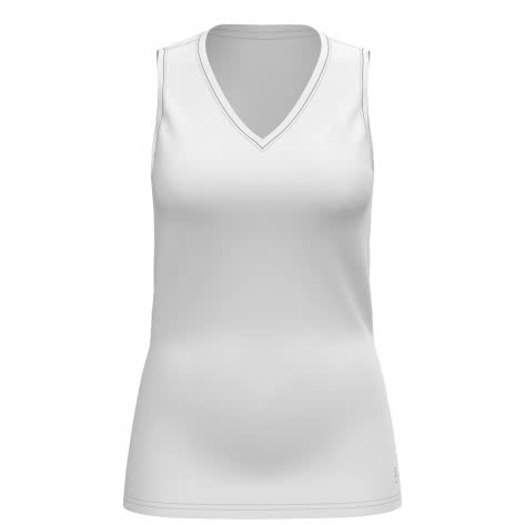 Odlo Damen Shirt SUW TOP V-neck Singlet ACTIVE F-DRY LIGH 141041-10000 XS white | XS