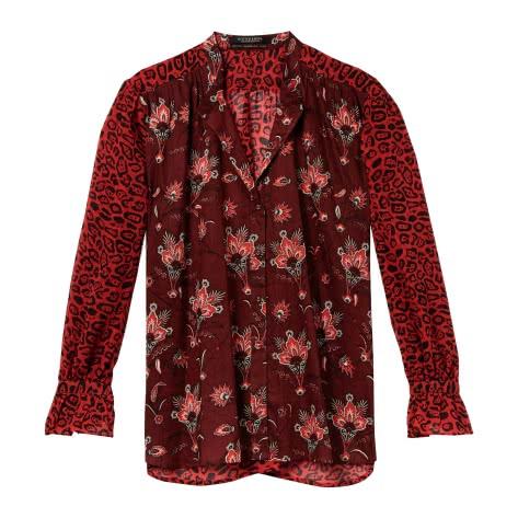 Maison Scotch Damen Bluse Printed Shirt 146314