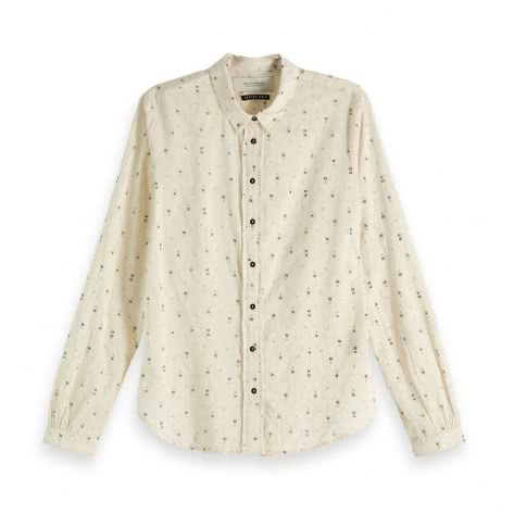 Maison Scotch Damen Bluse Cotton dobby shirt 147560