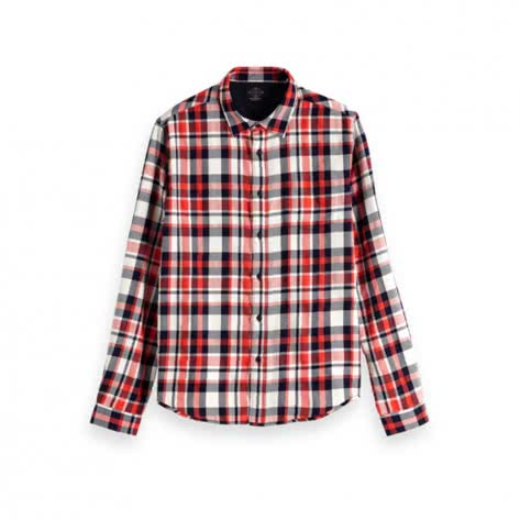 Scotch & Soda Herren Hemd Flannel Shirt 150493