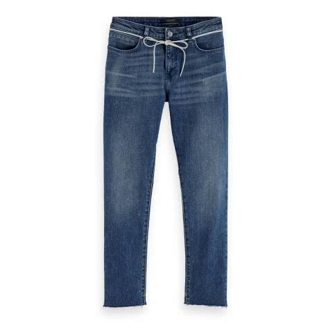 Maison Scotch Damen Jeans Petit Ami Cropped 150637