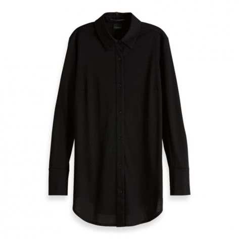 Maison Scotch Damen Bluse Nomade Jersey Shirt 151126