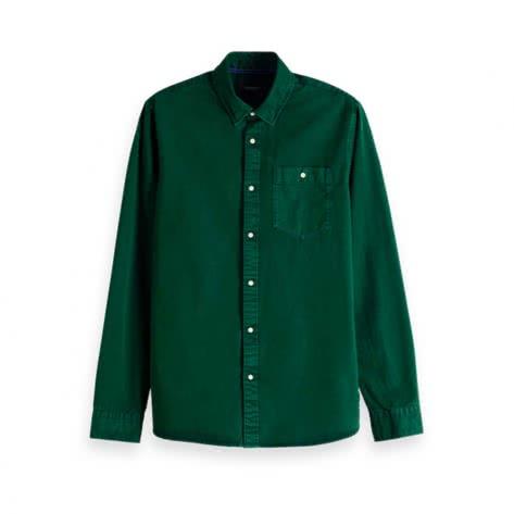 Scotch & Soda Herren Hemd Dyed Shirt 151137