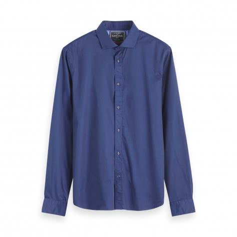 Scotch & Soda Herren Langarmhemd Classic Dress Shirt 152156