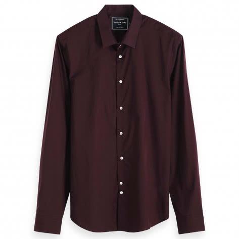 Scotch & Soda Herren Hemd Classic Cotton Shirt 152175