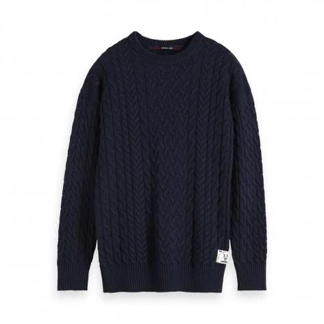 Scotch & Soda Herren Pullover Cable Knit 152349