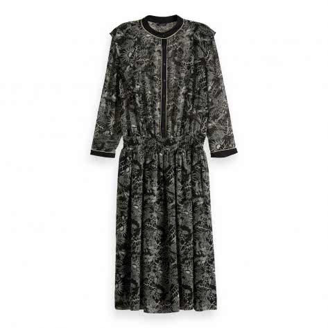 Maison Scotch Damen Kleid Allover Printed 152441