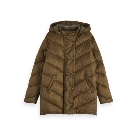 Maison Scotch Damen Mantel Quilted Jacket 152695