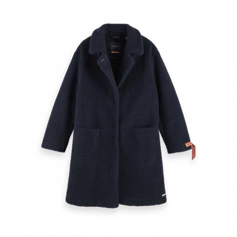 Maison Scotch Damen Mantel bonded teddy jacket 152753