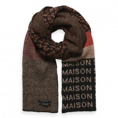 Maison Scotch Damen Schal Mix & Match Pattern 153239-17 Combo A | One size