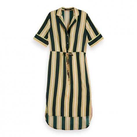 Maison Scotch Damen Kleid Printed Dress 153294