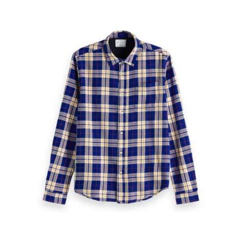 Scotch & Soda Herren Hemd Flannel Shirt 153295