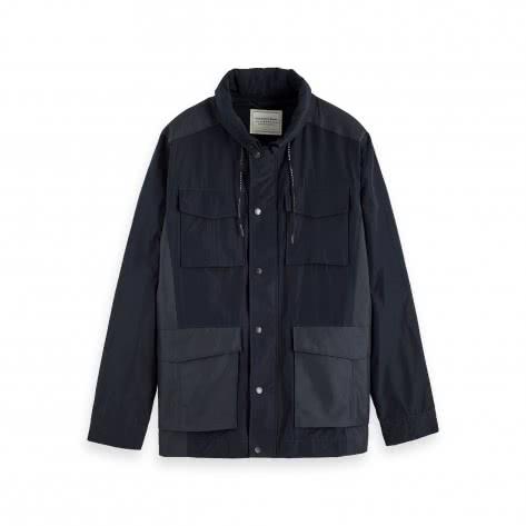 Scotch & Soda Herren Jacke 4 Pocket Military Jacket 153445