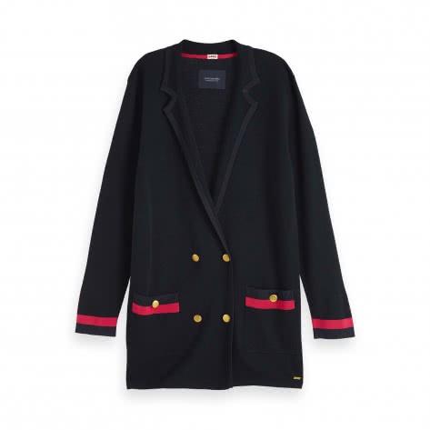 Maison Scotch Damen Strickblazer Luxury Knitted Blazer 153693