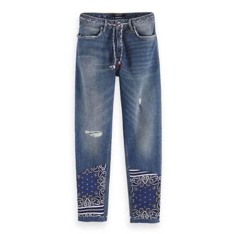 Maison Scotch Damen Jeans Petit Ami Cropped 153727