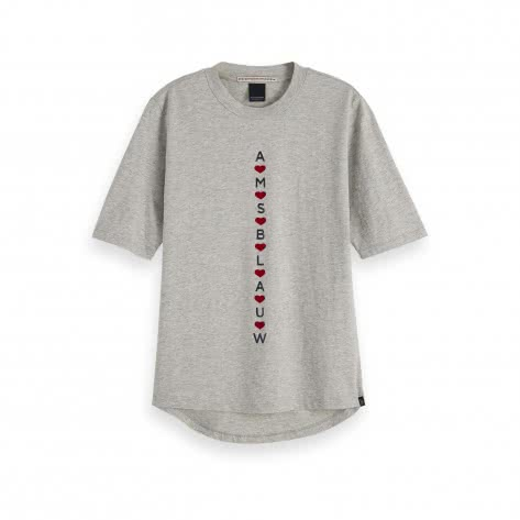 Maison Scotch Damen T-Shirt Easy Tee 153818