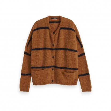 Maison Scotch Damen Cardigan Chunky Soft Knit 153830