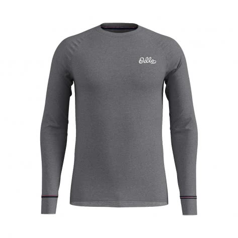 Odlo Herren Funktionsshirt BL TOP Crew neck l/s ACTIVE WARM 154202
