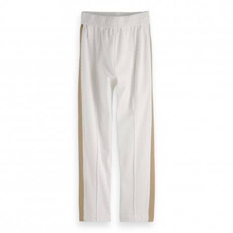 Maison Scotch Damen Sweathose Chic Pant Tuxedo Stripe 154387