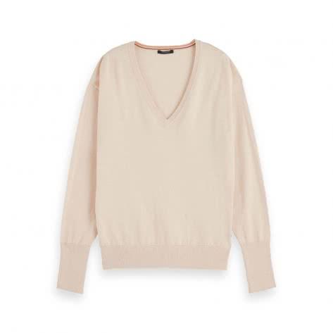 Maison Scotch Damen Pullover Cotton Cashmere Loose Knit 154415