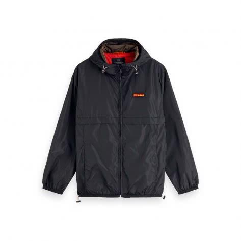 Scotch & Soda Herren Jacke Classic Hooded Nylon Jacket 154690