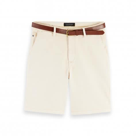 Scotch & Soda Herren Classic  Chino Short aus Baumwollstretch 155100