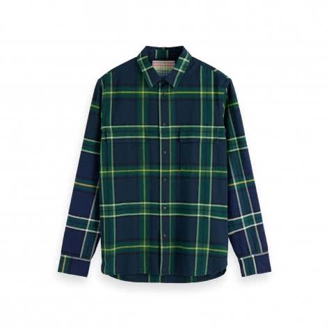 Scotch & Soda Herren Hemd Check Shirt 155155