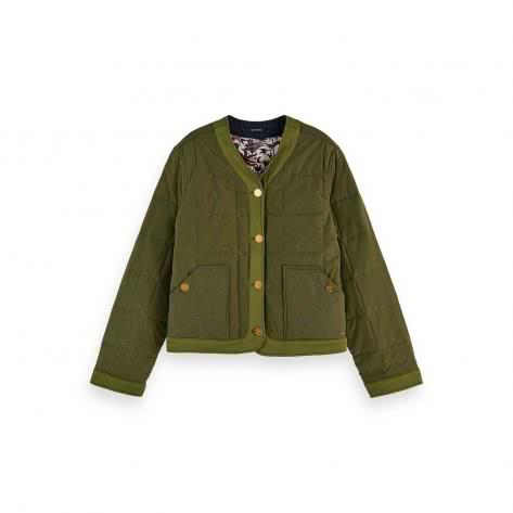 Maison Scotch Damen Steppjacke Reversible Quilted Jacket 156901