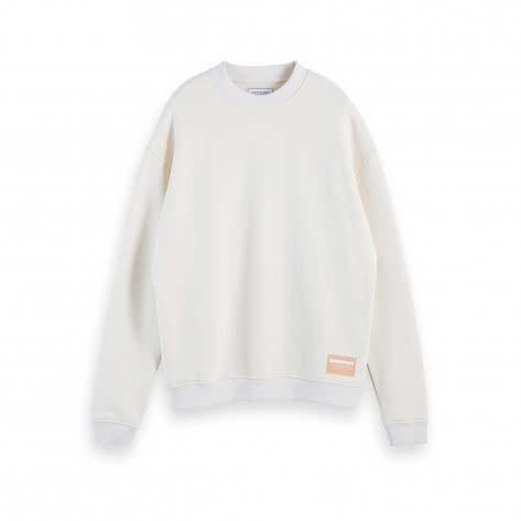 Scotch & Soda Herren Sweatshirt Highe Neck Sweatshirt 157508