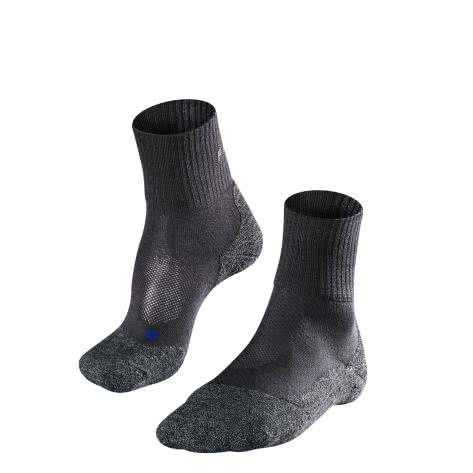 Falke Herren Trekking Socken TK2 Sh Co 16154 Asphalt Mel. Größe: 39-41,42-43,44-45,46-48