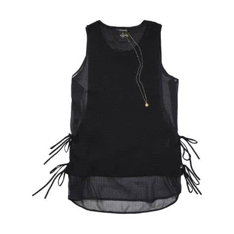 Maison Scotch Damen Tanktop Knit Tank 131337 Black Größe: ... im Outdoor Onlineshop Outlet