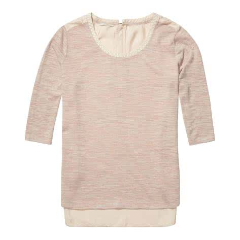 Maison Scotch Damen Top Feminine Jersey Top with Woven 10022... im Outdoor Onlineshop Outlet