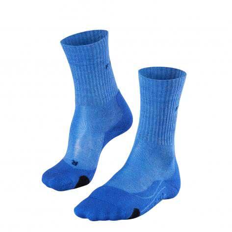 Falke Damen Trekkingsocke TK 2 Wool 16395-6545 35-36 blue note | 35-36