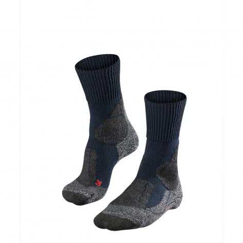 Falke Herren Trekking-Socken TK1 16481-6120 46-48 Asphalt Melange | 46-48