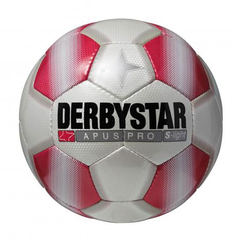 Derbystar Fussball Apus Pro S-Light 1719 4 Weiß/Rot Weiß/Rot   4