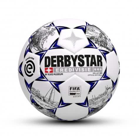 Derbystar Fussball Brillant APS Eredivisie 1737500019 Weiss-Schwarz-Blau   5