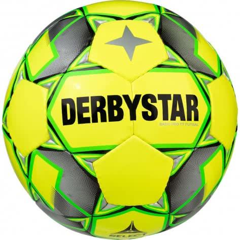 Derbystar Fussball Basic Pro TT Futsal 1741400584 Gelb-Grau-Gruen | 4