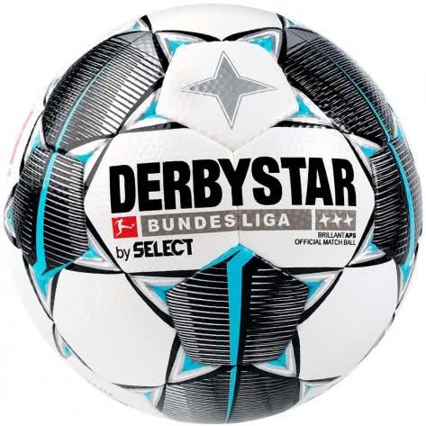 Derbystar Fussball Bundesliga Brillant APS OMB 2019/20 1802500019 Weiss-schwarz-petrol | 5