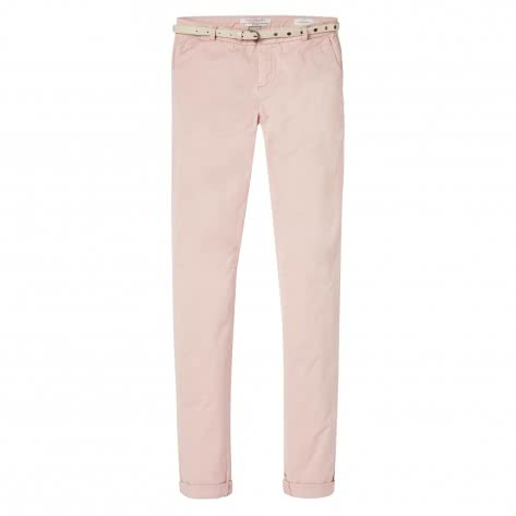 Maison Scotch Damen Hose Slim Fit Stretch Chino 143503-71 28/32 Blush | 28/32