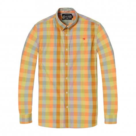 Scotch & Soda Herren Langarmhemd Classic Crispy Shirt 142477