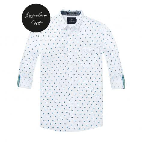Scotch & Soda Herren Langarmhemd Classic Shirt 145371-0217 L Combo A   L