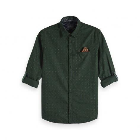 Scotch & Soda Herren Langarmhemd Classic Shirt 145371-0219 L Combo C | L