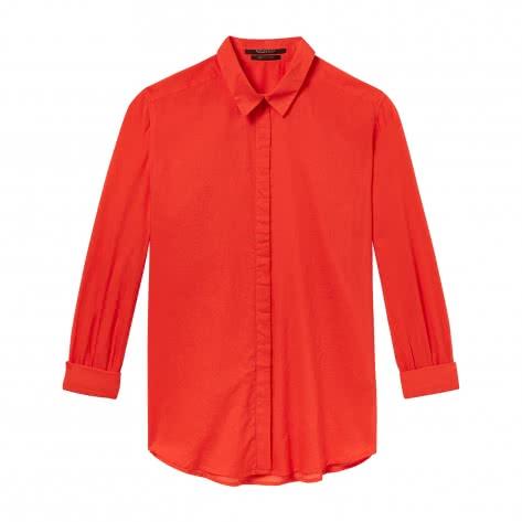 Maison Scotch Damen Bluse Relaxed Fit Cotton Shirt 146333-2036 XS Poppy Red | XS