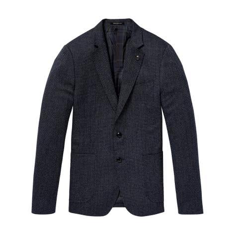 Scotch & Soda Herren Blazer Chic Structured Weave Blazer 145273