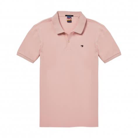 Scotch & Soda Herren Poloshirt Classic Pique Polo 145546