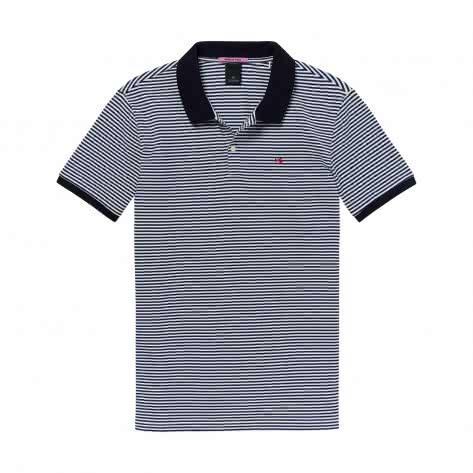 Scotch & Soda Herren Poloshirt Classic All-Over Printed Polo 145547-0221 S Combo E | S