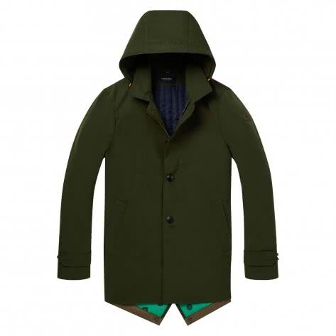 Scotch & Soda Herren Parka Classic Parka Jacket 145192-2391 XXL Spruce Green | XXL