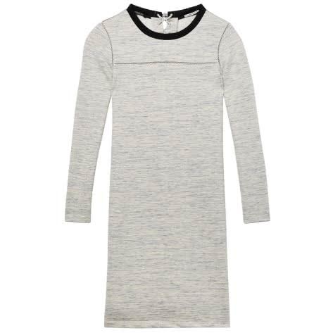 Maison Scotch Damen Kleid Fitted Sweat Dress 146600-66 XS Stone Melange   XS