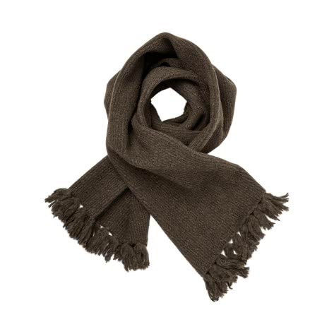 Maison Scotch Damen Schal Wool Blend Knitted Scarf 147504-0813 Military Melange | One size